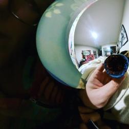 360 photo of glitter