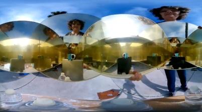 Infinty Mirror 360 Video