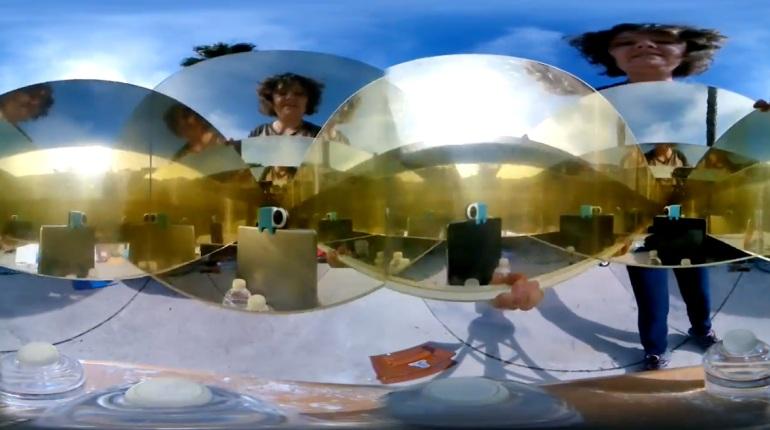 Infinity Mirror 360 Video