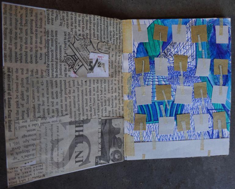 Mitra Cline - 1997 Artist Book - 3
