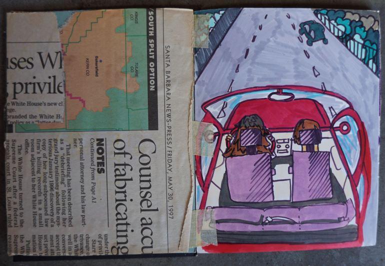 Mitra Cline - 1997 Artist Book - 6