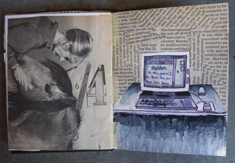 Mitra Cline - 1997 Artist Book - 9