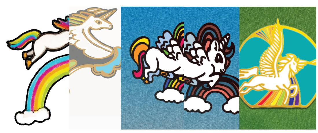 unicorn pegasus drawings