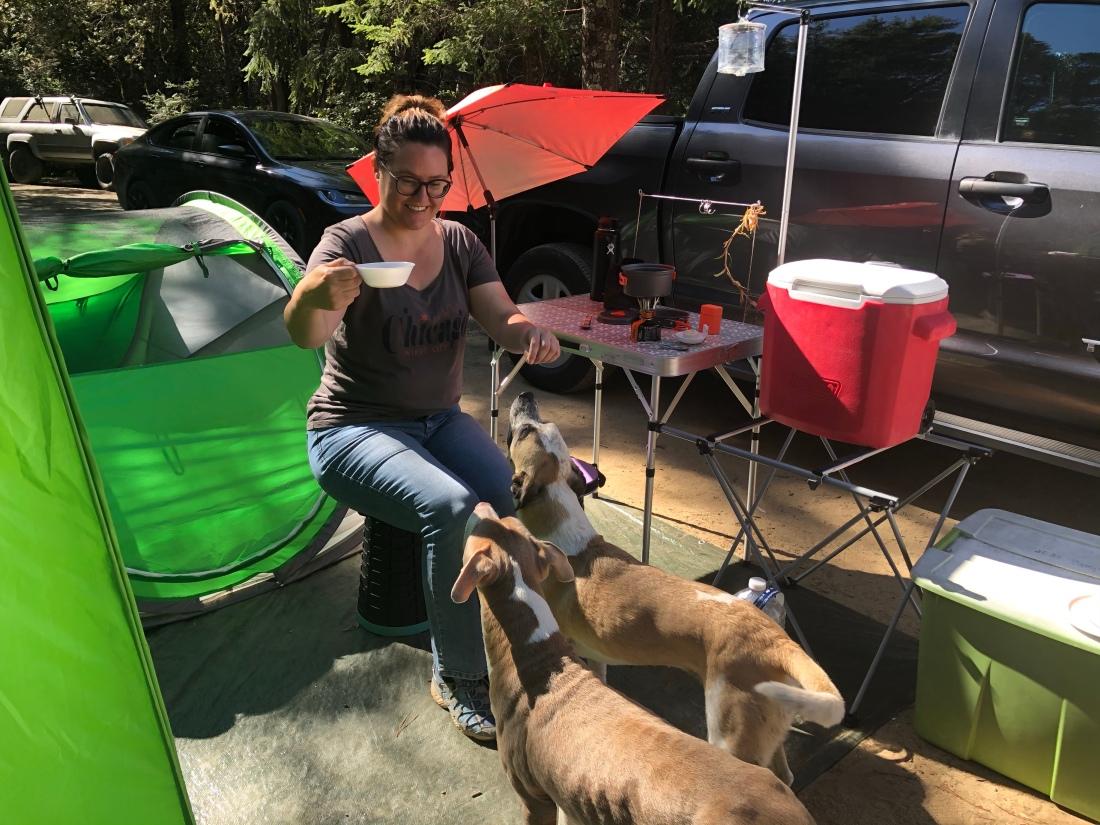 camping setup off grid july 2020 2