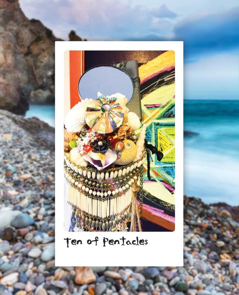 ten of pentacles mermaid type tarot