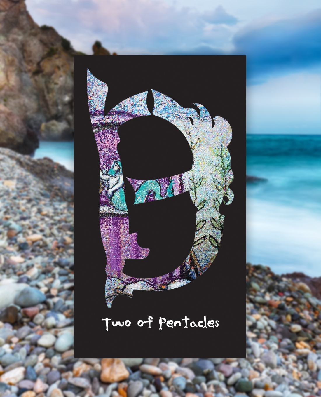 two of pentacles mermaid type tarot 1